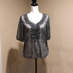 Women's med sheer top by Converse